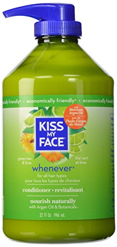 Kiss My Face Whenever Conditioner, Value Size, 32 Ounce (Aromatherapeutic Hair Shampoo)