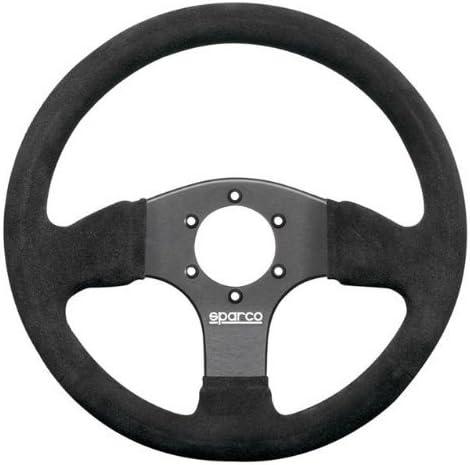 Sparco Suede Black Steering Wheel