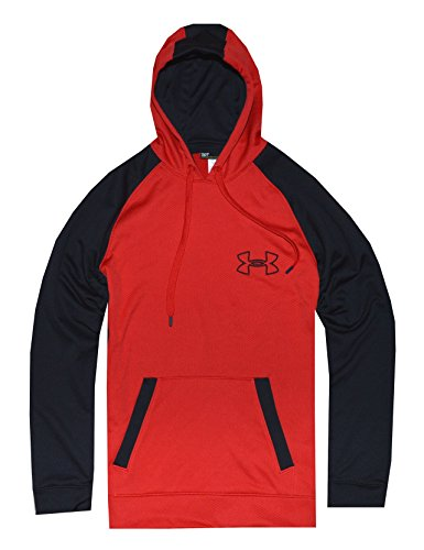 Under Armour Men,s Hoodie Jacket Medium Red Black