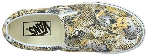 Bestelwagen Unisex Klassieke Instapper Kenia Sneakers Zwart / True White