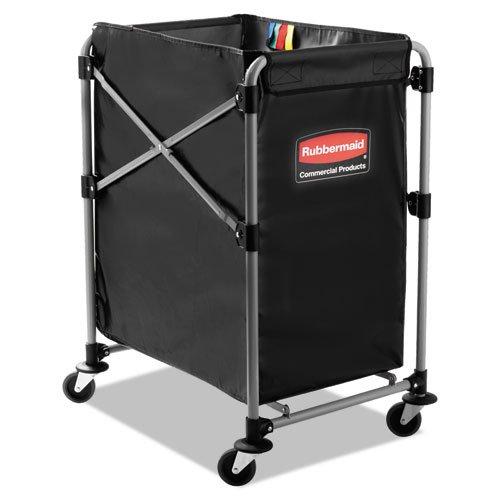 Collapsible X-Cart, Steel, Four Bushel Cart, 20 1/3w x 24 1/10d, ()