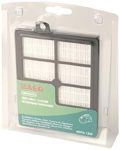 AEG AEFG 12 W - Filtro HEPA lavable para aspiradoras con S-Bag de AEG-Electrolux y Philips