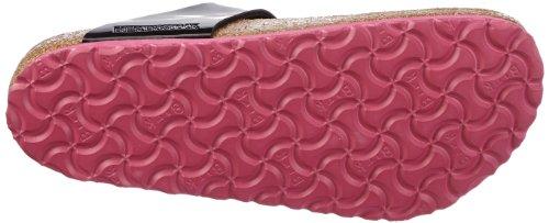 Birkenstock Gizeh - Zuecos de material sintético mujer multicolor - Mehrfarbig (Schwarz / Pink)