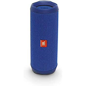 3eb243f5d78 Amazon.com: JBL Flip 4 Bluetooth Portable Stereo Speaker - Blue ...