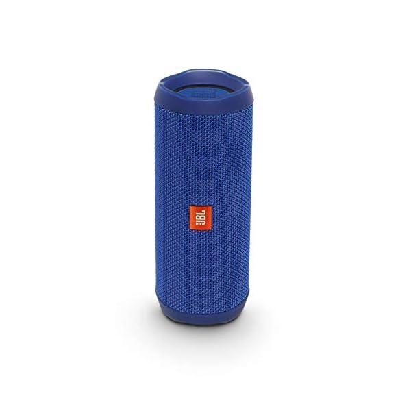 JBL Flip 4 - enceinte Bluetooth Portable Robuste - Étanche Ipx7 pour Piscine & Plage - Autonomie 12 Hrs - Qualité Audio JBL - Bleu 1