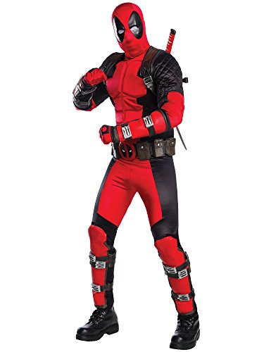 Rubie's Costume Co Deadpool Grand Heritage Costume,