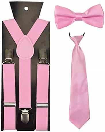098533a52aea Fashion Boys Girl kid Suspender Adjustable Elastic Y-Back Braces Baby BowTie  Butterfly Suspenders Set