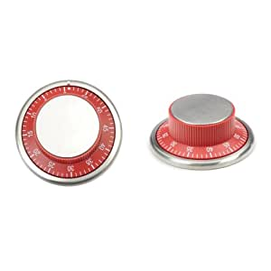 RSVP Endurance Red Easy Read Kitchen Timer