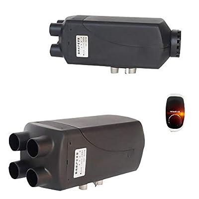 SHZONS Air Diesel Heater, 24V 5KW Vehicle Heater Vans,Trucks,RV,Car Trailer,Boats,Thermostat Cars Trucks Motor-Homes Boats Bus Parking Speed Hot