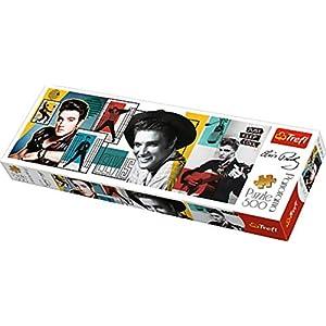 Trefl 29510 Puzzle Panorama Modello Elvis Presley 500 Pezzi Multicolore