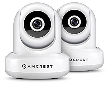 Amcrest 2-Pack HDSeries 720P WiFi Wireless IP Security