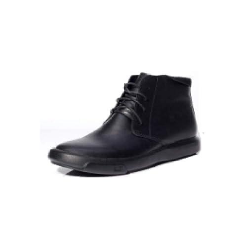 Zapatos Negros con Cordones para Hombre, Botines Hechos A Mano De Plataforma Redonda Y Gruesa Británica Zapatos De Negocios Informales: Amazon.es: Zapatos y ...