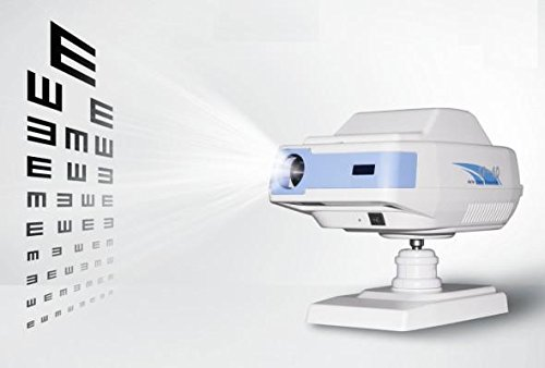 Durable LED Auto Chart Projector Optical Eye Vision Chart Projector 39 Charts Options Registered in FDA by elited