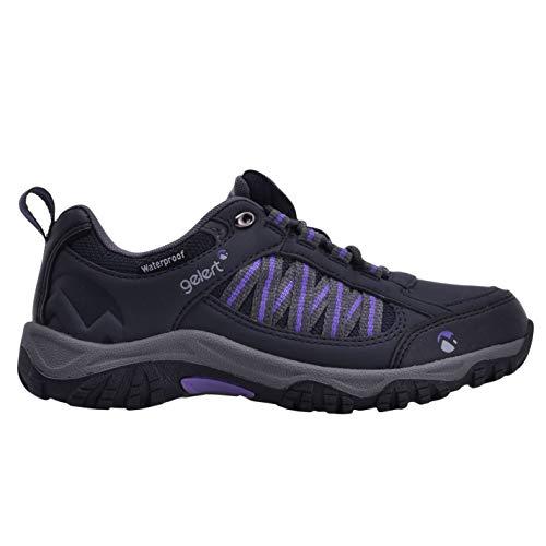 Gelert Womens Horizon Low Ladies Waterproof Walking Shoes Navy 6