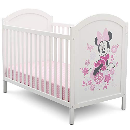 Disney Minnie Mouse 4-in-1 Convertible Crib by Delta Children
