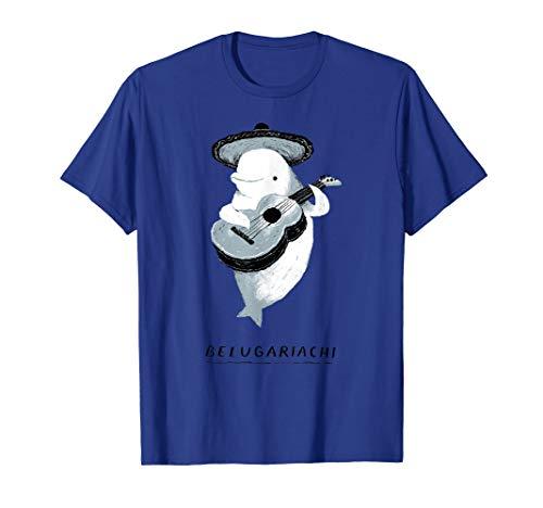 belugariachi, beluga whale T-shirt, beluga mariachi