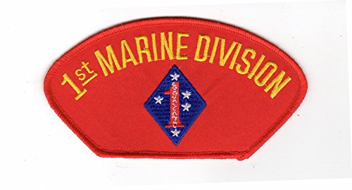 1st Marine Division Red Hat Patch