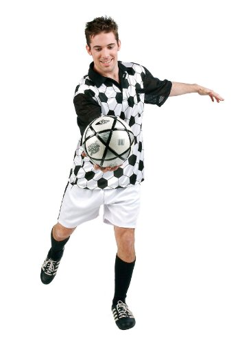 [Soccer Player (Standard;X-Large)] (Male Football Player Costume)