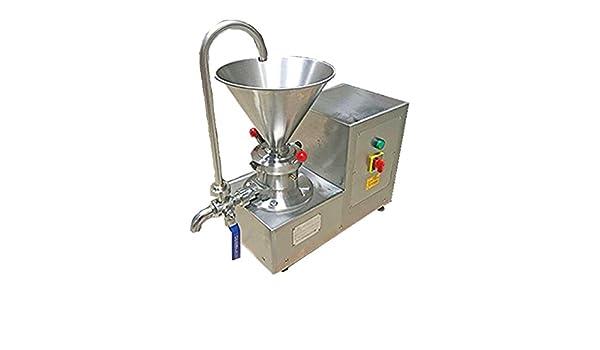 Compra coloide molinillo máquina para mantequilla de cacahuete/Sesame chocolate/hielo crema emulgente 4.1l 80 ~ 150mesh en Amazon.es