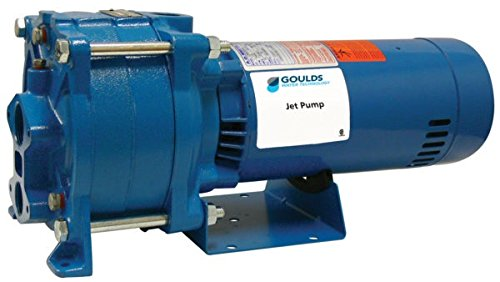 Goulds HSJ10N 1 HP Convertible Jet Pump 115/230V 1 Phase