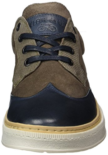 Cycleur de luxe Moscow - Zapatillas Mujer Blau (Navy/Taupe)