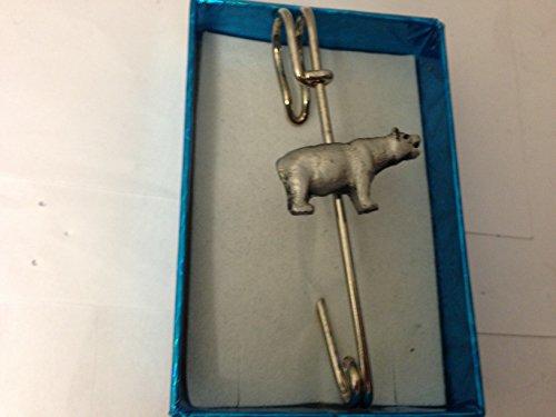 Ours Kilt E57écharpe ou Broche en étain emblème 7,6cm 7,5cm