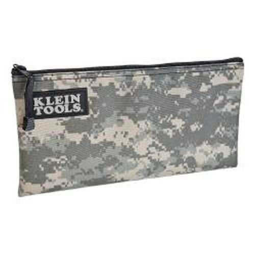 Cordura Camouflage Zipper Bag - Zipper Bag, Camo Bag is 12.5 x 7-Inch, Durable Cordura Fabric Camouflage Design Klein Tools 5139C