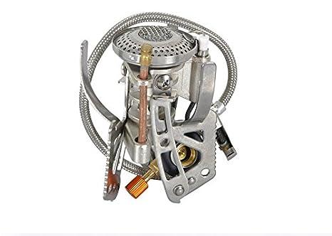 Protección contra el viento proveedor hornillo de Gas para Camping Gas quemador de esencias de utensilios de cocina de alta montaña: Amazon.es: Deportes y ...