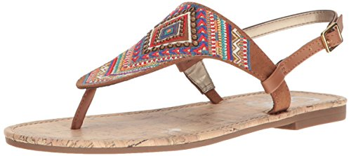 Embroidered Slingback - Circus by Sam Edelman Women's Brita, Saddle, 11 M US