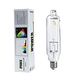 iPower 1000 Watt Metal Halide MH Grow Light Lamp Bulb with Full Spectrum, 6000K