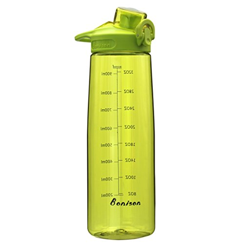 bonison-36-oz-wide-mouth-sports-water-bottle-flip-top-lid-with-handle-leak-proof-bpa-free-spill-proo