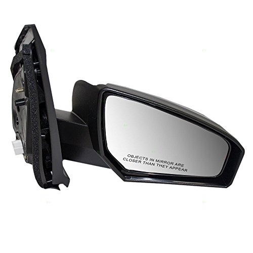 - Passengers Power Side View Mirror Ready-to-Paint Replacement for Nissan 96301ET01E