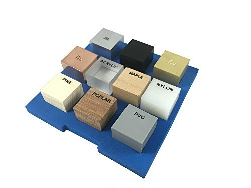 Ten Specimen Density Set (Ten piece/cube/block)