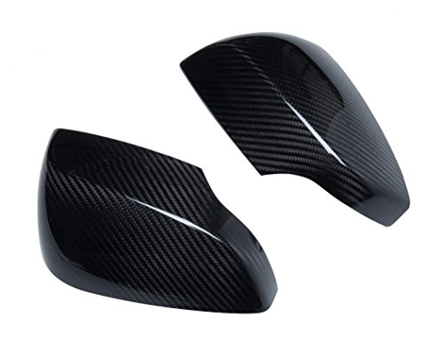 Dry Carbon Fiber Door Side Mirror Covers for 2015-2017 Subaru Impreza WRX and WRX STI ()