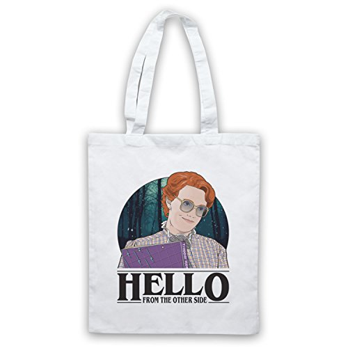 Side White Hello From Other Stranger Tote Things The Bag Barb xYnaqC