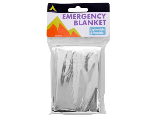 Bulk Buys HC200-96 Emergency Blanket