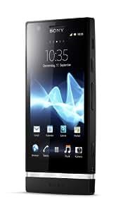 """Sony Xperia P - Smartphone libre (pantalla táctil de 4"""" 540 x 960, cámara 8 Mp, 16 GB, 2 procesadores de 1 GHz, 1 GB de RAM, S.O. Android 2.3), negro"""