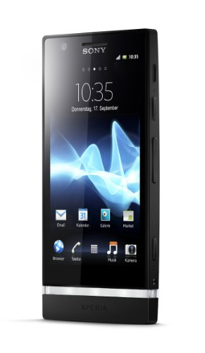 Sony Xperia P Lt 22i 16gb 4.0'' 1.0 ghz 8 mp black Android 2.3 Factory Unlocked Black by Sony