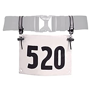 Nathan Race Number Belt Attachments