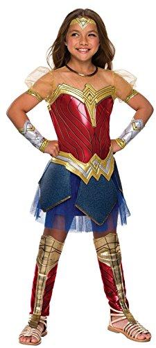 Rubie's Costume 640004-L Co Justice League Child's Wonder