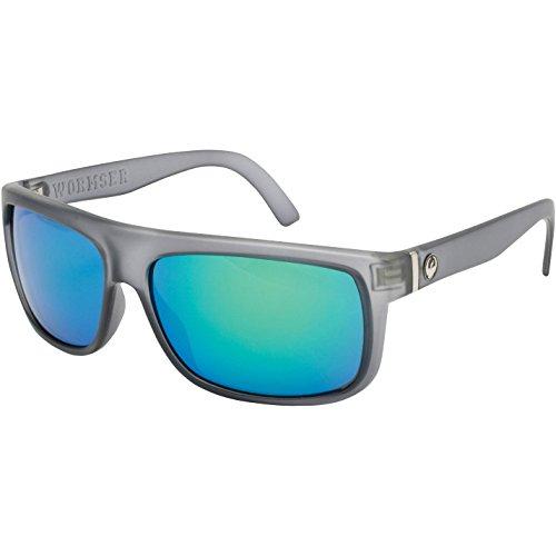 Dragon Alliance Men's Wormser Outdoor Sunglasses - Matte Grey/Green Ionized / One Size Fits - Sunglasses Wormser Dragon