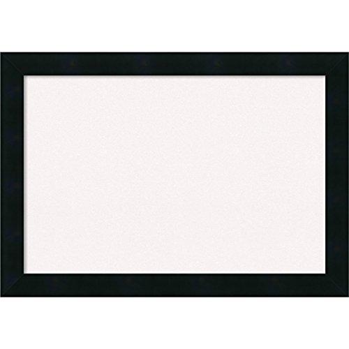 Amanti Art DSW3979346 Framed Cork Board, Small, Mezzanotte Black by Amanti Art