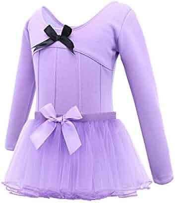 Active Dongtu Kids Girls Cotton O-Neck Ballet Dress Long Sleeve Dance Tutu Dresses  Active Dresses Clothing, Shoes & Jewelry samel.com.br
