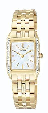 c0e737d61ed Image Unavailable. Image not available for. Color  Citizen Women s  EG3112-51D Eco-Drive Stiletto Diamond Watch