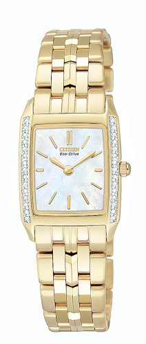 Stiletto Diamond Watch - Citizen Women's EG3112-51D Eco-Drive Stiletto Diamond Watch