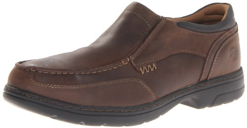 (Timberland PRO Men's Branston Moc Toe Slip-On Work Shoe,Brown Distressed,10.5 M)