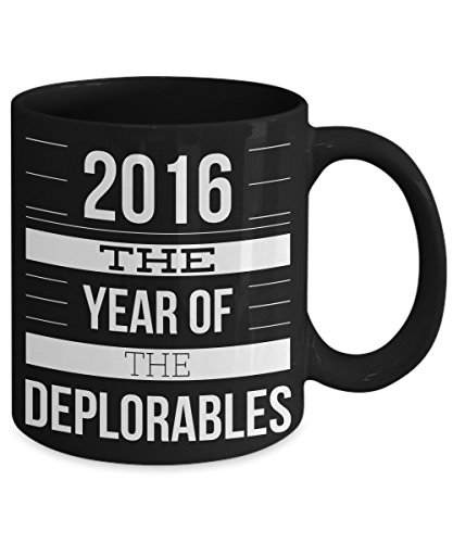 2016 The Year Of The Deplorables Funny Coffee Mug - Nerdy Halloween Costumes 2016