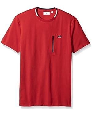 Men's Made in France Zipper Pocket T-Shirt