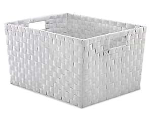 Whitmor Resin Weave Basket-Medium