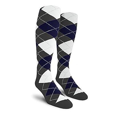 Argyle Golf Socks Over-the-Calf